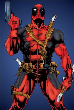 I just figured it out; deadpool is a marvel character!!!!!!!