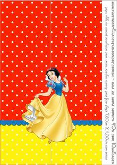 Blancanieves: Etiquetas para Candy Bar para Imprimir Gratis.