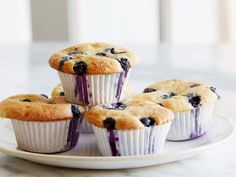 Get Blueberry Coffee Cake Muffins Recipe from Food Network