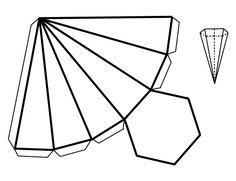 Cuerpos geométricos para recortar - Imagui