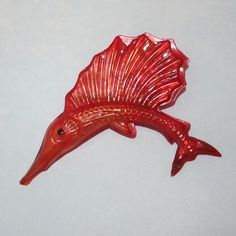 Vintage Red Celluloid Early Plastics by LoriLakeTreasures on Etsy, $24.00