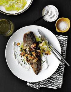 Kurt Gutenbrunner's Recipe for Pan-Fried Trout With Leeks, Almonds and Capers