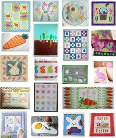 FREE PATTERN Archive | Easter Quilts | Free