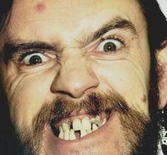 um rosto lindo e um sorriso encantador #Lemmy #Motorhead