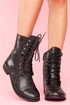 rogue brogue boot - black
