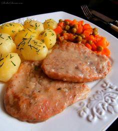 Bitki Wieprzowe (Bitki ze Schabu) Risotto, Pork, Food And Drink, Eggs, Meat, Chicken, Cooking, Breakfast, Ethnic Recipes
