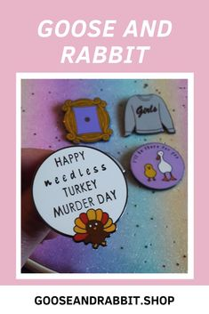 Grab this friends tv show inspired vegan enamel pin. Click through to view more vegan enamel pins. Phoebe Buffay, Perfect Mother's Day Gift, Etsy Business, Friends Tv Show, Pin Collection, Soy Candles, Some Fun, Stocking Stuffers, Best Gifts