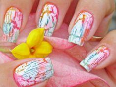 Craquelado | por Mhilka ♥ #nail #nailart #unha #unhadecorada