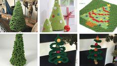 6 Häkeln Sie Weihnachtsbaum inspirierte Muster   Die gehäkelte Menge