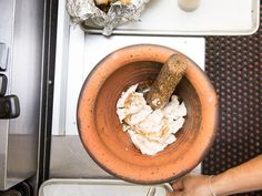 Buy a mortar and pestle, suffer a half hour at most of buyer's remorse, and then be a slightly better cook forever.