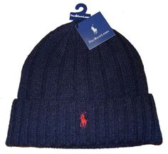Polo Ralph Lauren Adult's Wool Navy Blue/Red Pony Beanie Hat OS for just $23.99  #sneakerkingdom #nikebaseball #20%sho #baseballcleats #soccercleats #hypervenom #20%shoeco #soccershoes #winterglove #airmax95women