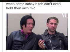 Michael Shuman and Troy Van Leeuwen Queens of The Stone Age