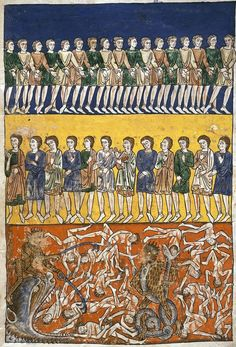 Hell mouth, Beatus of Liébana (ca. 750-798), The University of Manchester Library, U.K