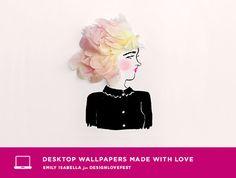 Flower Ladies Dress Your Tech | designlovefest