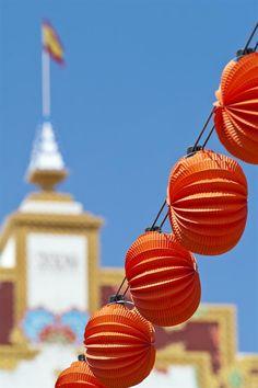 Sevilla - Feria de Abril - Lanterns