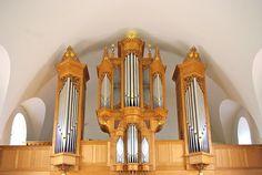 Saessolsheim Pipe Organ of the Eglise Saint-Jean-Baptiste - built by Bernard Aubertin en 1995