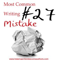 Most Common Writing Mistakes: Weak Character Voice - Helping Writers Become Authors