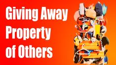 Don't give away the property of Others as charity because it's not charity but instead a version of theft and theft is a SIN! Show your support on Patreon ht. Devil, Charity, Islam, Good Things, Tools, Muslim, Appliance, Vehicles