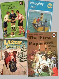 alternative Ladybird books - not sure I remember these myself