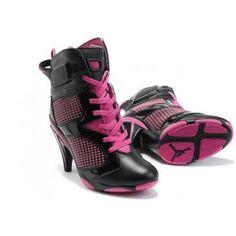 Air Jordan 6 High Heel Pink Black