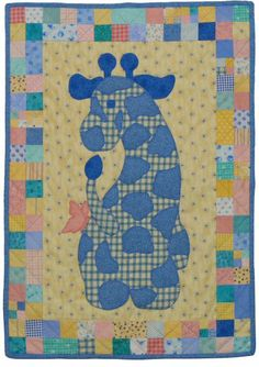 Meet Gerome the Giraffe - ★ The Stuffies Quilt Pattern Star! ★ The quilt pattern is available exclusively through my site here: http://www.victorianaquiltdesigns.com/VictorianaQuilters/PatternPage/Stuffies/GerometheGiraffe.htm  He also is the center block of 'My Baby Sampler' here: http://www.victorianaquiltdesigns.com/VictorianaQuilters/PatternPage/BabySampler/BabySampler.htm  #quilting #baby #stuffies