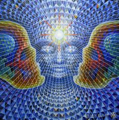 Crystalline Being - Diamond Being - Alex Grey - www.alexgrey.com