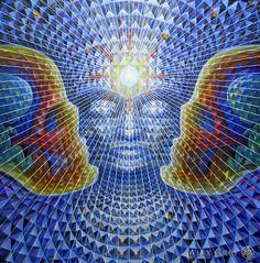 Crystalline Being - Diamond Being - Alex Grey - www.alexgrey.com