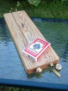 Ash Cribbage Board