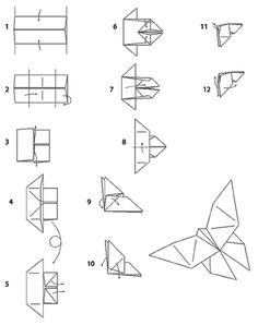 43 Best Origami Papillon Images Art For Kids Crafts For Kids Crafts