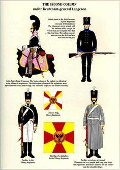 Cavalleria e fanteria russa