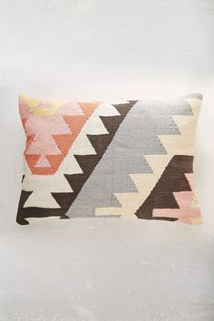 Shop Plum & Bow Tepeck Kilim Pillow at Urban Outfitters today. We carry all the latest styles, colors and brands for you to choose from right here. Kilim Cushions, Throw Pillows, Couch Pillows, Living Room Inspiration, Design Inspiration, Interior Inspiration, Urban Outfitters, Bohemian Wedding Inspiration, Textiles