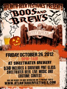 Boos and Brews @ Sweetwater