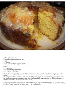Pineapple cake, so craving this!