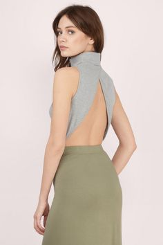 Dallas Turtleneck Bodysuit at Tobi.com Shop our fun and flirty rompers today! Enjoy 50% off your first order and free shipping over $50. Tobi.com has new arrivals every day so you'll always find something you love #shoptobi