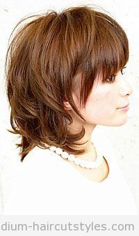 Medium Layered Haircuts Over 50 | medium-layered-bob-hairstyles Pictures