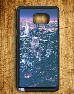 Manhattan At Night Samsung Galaxy Note 5 Case