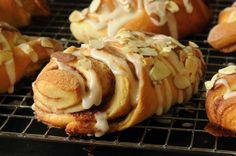 """""""Almond Fans""""   or fancy sweet rolls"""