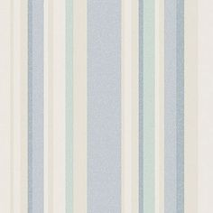 """Norwall Wallcoverings Inc VIntage Damask 32.7' x 20.5"""" Raised Stripe Wallpaper Color: Blue / Taupe"""