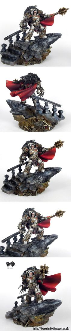 Horus Lupercal Warmaster of the Imperium Luna Wolves Primarch