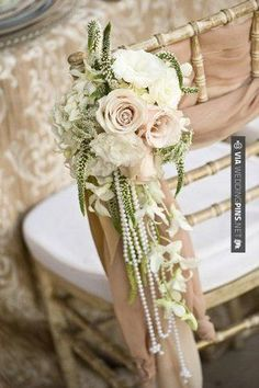 So neat! - Chairs | CHECK OUT MORE GREAT VINTAGE WEDDING IDEAS AT WEDDINGPINS.NET | #weddings #vintagewedding #weddingvintage #oldweddingphotos #events #forweddings #iloveweddings #romance #vintage #planners #old #ceremonyphotos #weddingphotos #weddingpictures