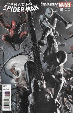 The Amazing Spider-Man # 13 Marvel Now ! Vol 3 Incentive Gabriele Dell Otto Variant Cover