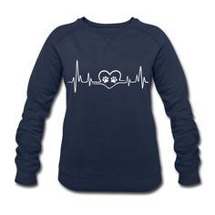 Frauen Sweatshirt von Stanley & Stella - Herzschlag Pfoten - Frauen Bio-Sweatshirt von Stanley & Stella