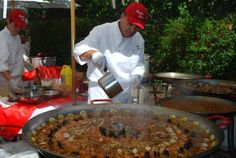 Paella by Jose Castaneda - A Catalan Festival highlight.