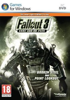 Fallout 3: Broken Steel and Point Lookout (PC) add-on  #fallout3 #videogames #pcgames #dlc #addonpack #brokensteelandpointlookout