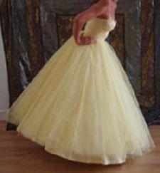 1940's prom dress