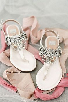 e13c4b0cc94 24 Beach Wedding Shoes Perfect For An Seaside Ceremony