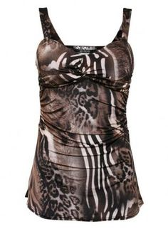 Print Strappy Bustier Top - by Pilot,  Top, Print Strappy Bustier Top by Pilot, Chic
