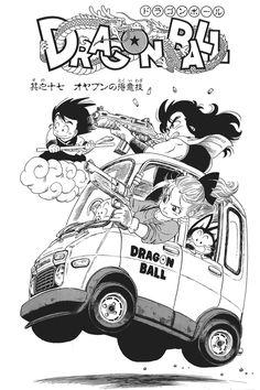 Adoro os carros do mangá de Dragon Ball