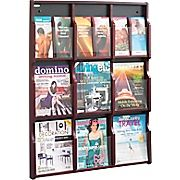 Buy Safco Expose 9-Pocket Wood Magazine/Pamphlet Display, Mahogany at Staples' low price, or read customer reviews to learn more.