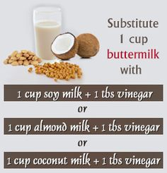 recipe: buttermilk substitute vegan [1]